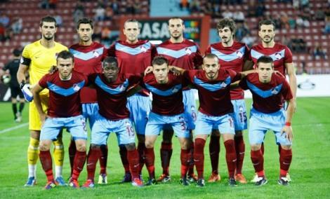 L'1461 Trabzon, squadra B del Trabzonspor. Da notare la presenza di Yusuf Erdogan, ora colonna portante della prima squadra.