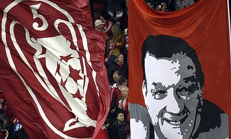 Robert 'Bob' Paisley, autentica leggenda del Liverpool.