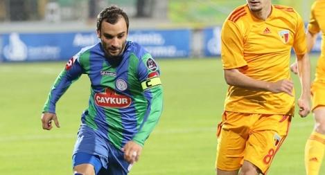Cenk Ahmet Alkilic, ora al Kayseri Erciyesspor - nella foto ai tempi del Rizespor - è uno dei talenti passati dalla scuola di Beykoz.